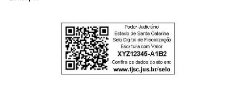 TJSC determina aplicação do QRCODE em todos os selos dos cartórios de Santa Catarina